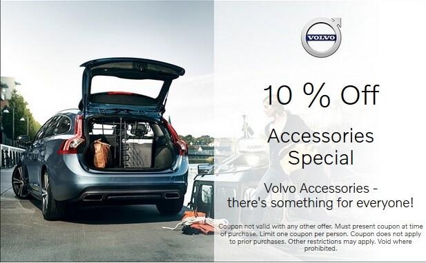 10% Off Genuine Volvo Accessories