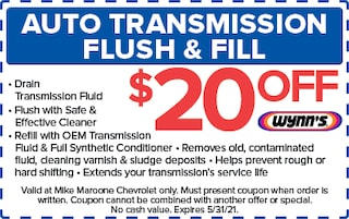 Auto Transmission Flush & Fill (West Palm Beach Chevrolet)