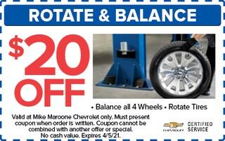 Rotate/Balance (West Palm Beach Chevrolet)