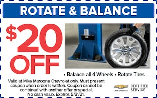 Rotate/Balance (West Palm Beach Chevrolet)