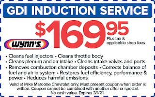 GDI Induction Service (West Palm Beach Chevrolet)