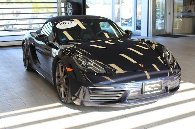 2017 Porsche 718 Boxster S Roadster