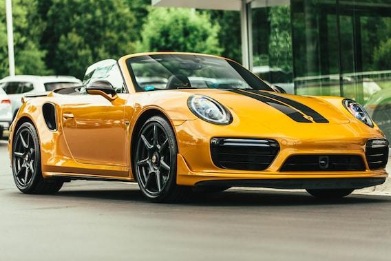 911 Turbo S Cabriolet Exclusive Series For Sale At Porsche Bellingham Porsche Bellingham