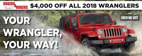 New Chrysler, Dodge, Jeep, & Ram Dealership   Rogers