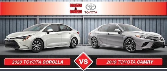 Corolla Vs Camry >> 2020 Toyota Camry Vs 2020 Toyota Corolla Specs Design
