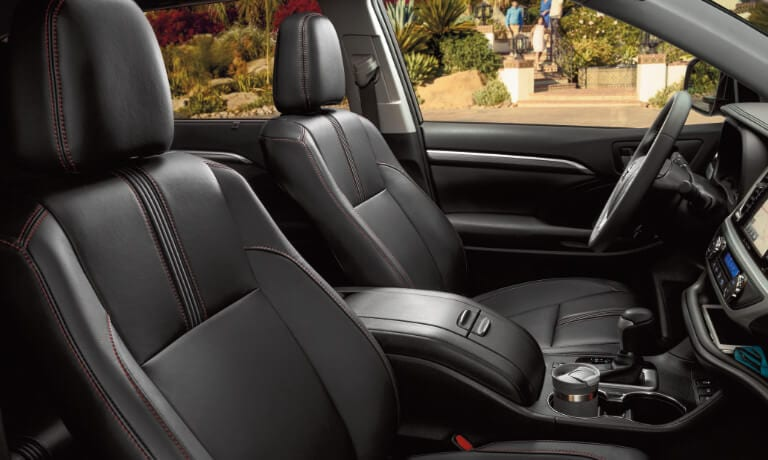 Toyota Highlander interior seating