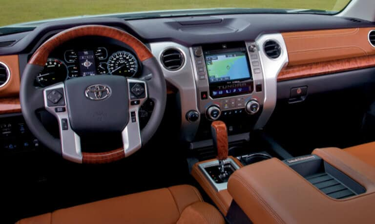 Tundra front infotainment