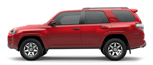 A red 2020 Toyota 4Runner