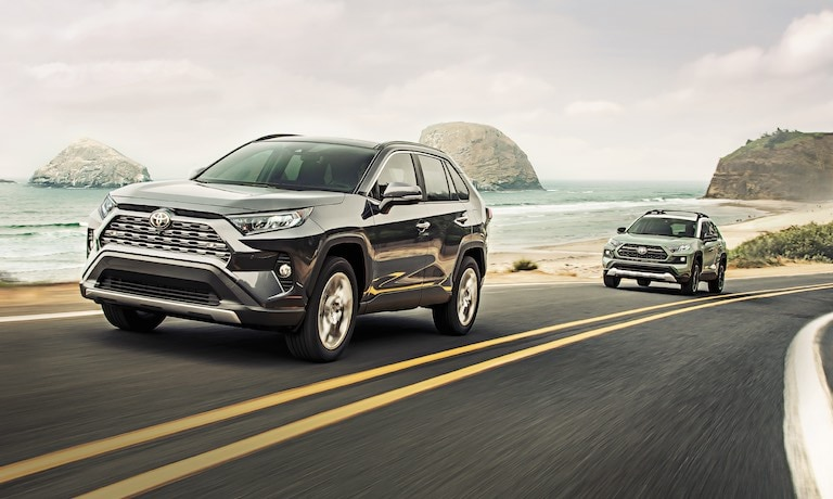 2019 RAV4 Safety & Technology Festures