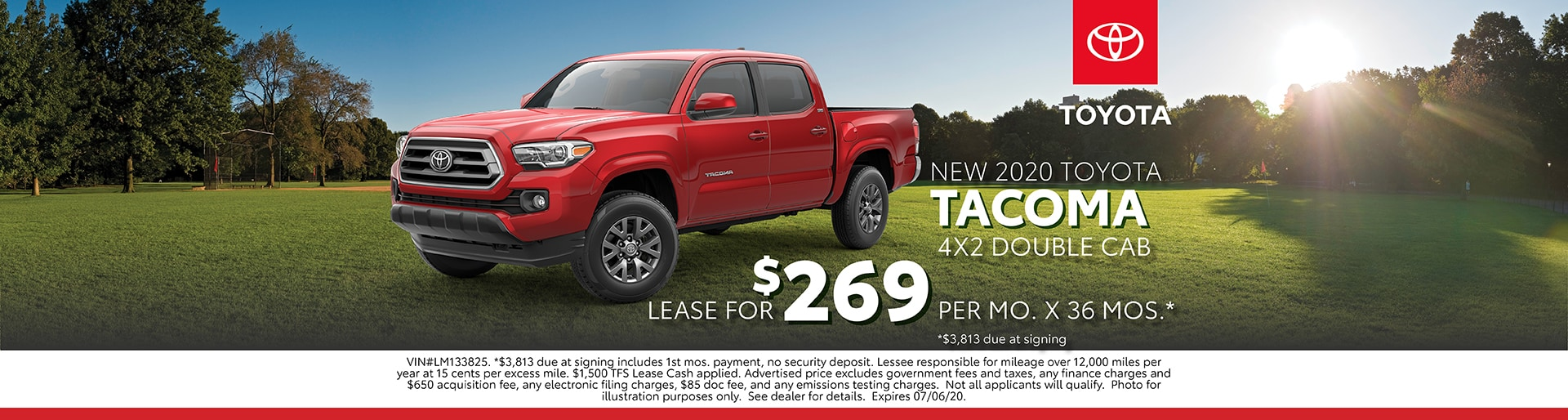 Tacoma Lease Offer