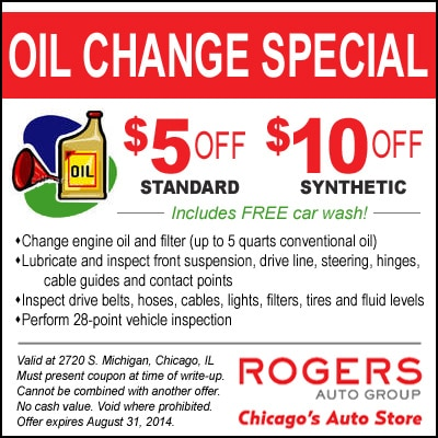 oil change coupons collierville tn