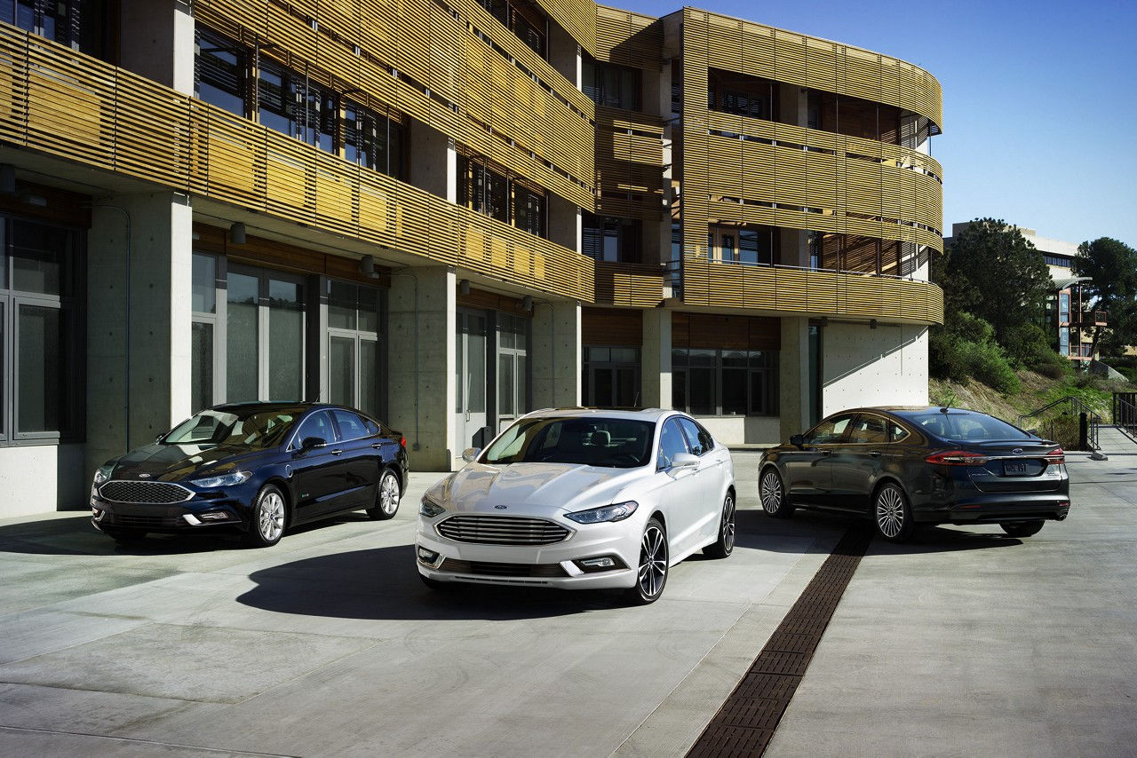 The Ford Fusion, Honda Accord ...