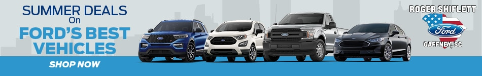 Summer Deals on Ford's Best Vehicles