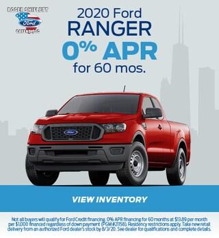 July 2020 Ford Ranger