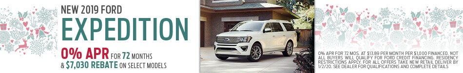 New 2019 Ford Expedition