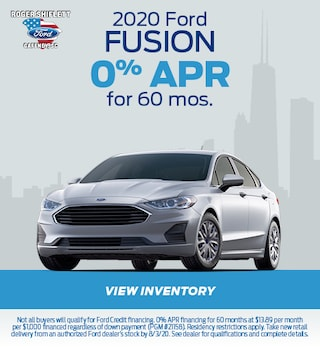 July 2020 Ford Fusion