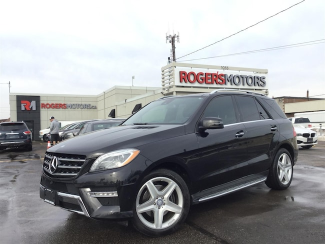 2015 Mercedes-Benz ML350 BLUETEC - NAVI - PANO ROOF - SELF PARKING SUV