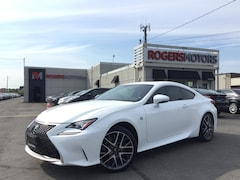 2016 LEXUS RC 350 AWD - FSPORT - NAVI - RED LEATHER Coupe