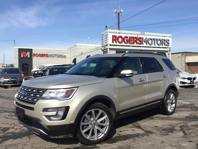 2017 Ford Explorer LTD 4WD - 7 PASS - NAVI - PANO ROOF - SELF PARKING SUV