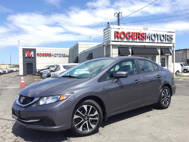 2015 Honda Civic EX - SUNROOF - REVERSE CAM Sedan