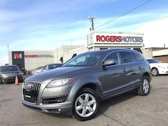 2012 Audi Q7 TDI - 7 PASS - LEATHER - PANORAMIC ROOF SUV