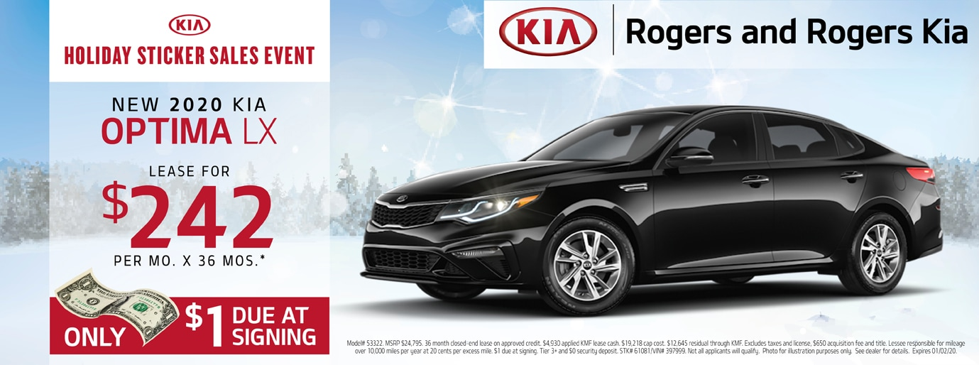 Kia Optima Lease Deal