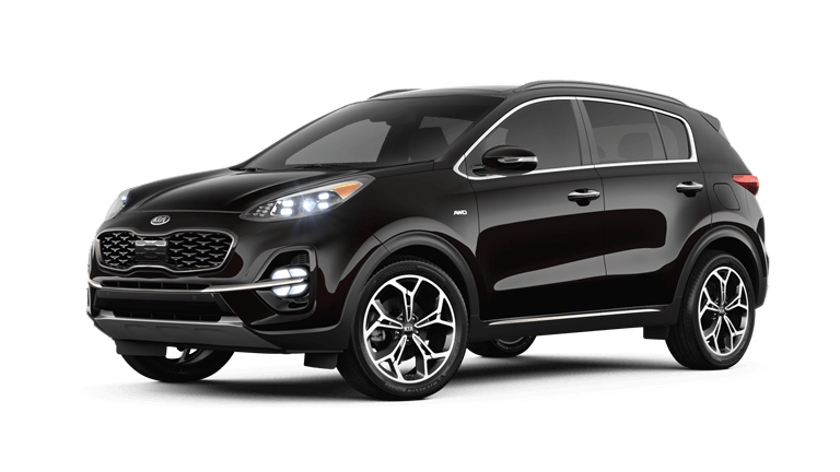 2020 Kia Sportage SX Turbo - Black