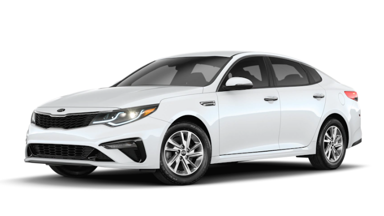 2020 Kia Optima LX in White