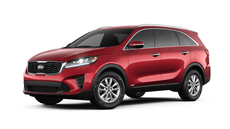 2020 Kia Sorento LX in Red