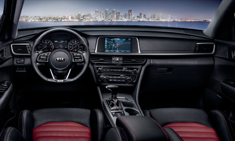 2020 Kia Optima Interior front seats