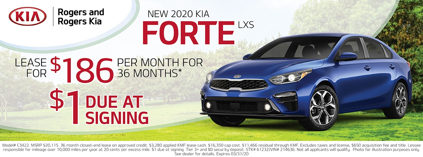 2019 Forte Lease Deal