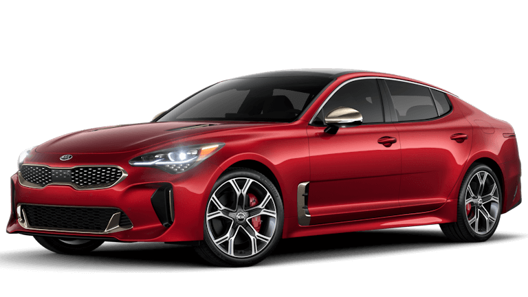 2019 Kia Stinger GT2 in RED