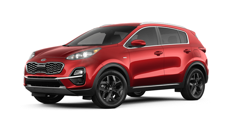 2020 Kia Sportage S - Red