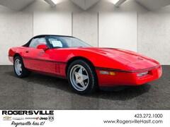 Bargain Cars  1988 Chevrolet Corvette Convertible Convertible For Sale in Rogersville