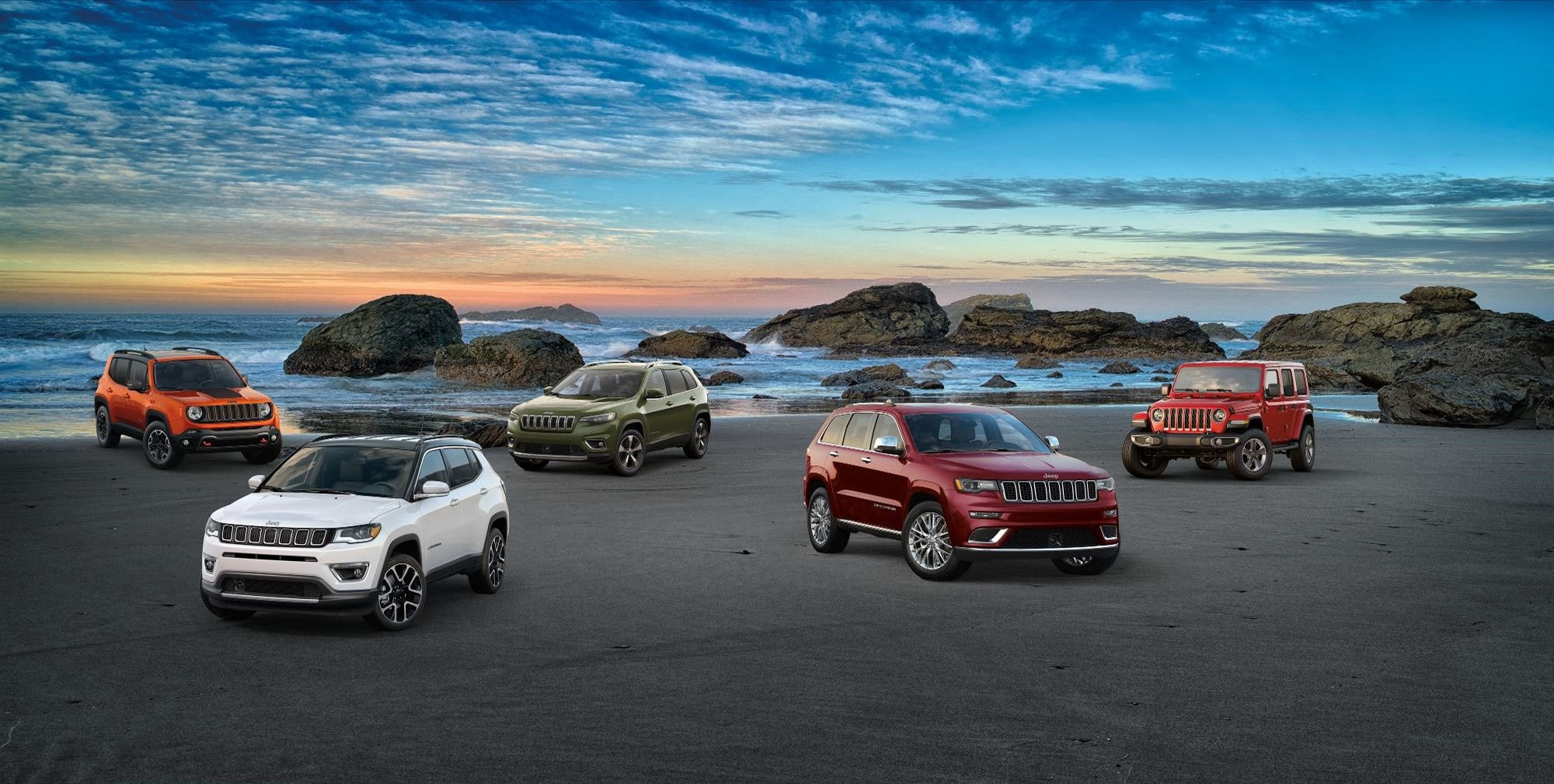 New Jeep SUVs serving  Greenville