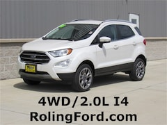 New 2018 Ford EcoSport Titanium SUV MAJ6P1WL1JC192984 for sale in Shell Rock at Roling Ford