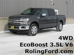 New 2019 Ford F-150 Lariat Truck 1FTEW1E46KKC65941 for sale in Shell Rock at Roling Ford
