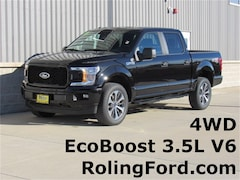 New 2019 Ford F-150 STX Truck 1FTEW1E49KKC08388 for sale in Shell Rock at Roling Ford