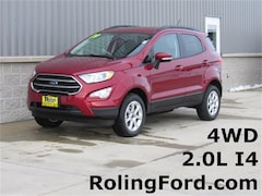 New 2019 Ford EcoSport SE SUV MAJ6S3GL5KC263470 for sale in Shell Rock at Roling Ford
