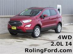 New 2019 Ford EcoSport SE SUV MAJ6S3GL5KC263470 for sale in Cedar Falls