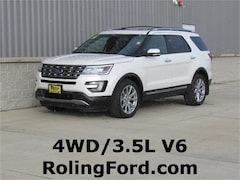 Used 2016 Ford Explorer Limited SUV 1FM5K8F8XGGB38976 for sale in Shell Rock at Roling Ford