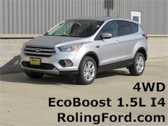 New 2019 Ford Escape SE SUV 1FMCU9GD9KUA13884 for sale in Shell Rock at Roling Ford
