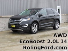 Used 2018 Ford Edge Titanium SUV 2FMPK4K95JBB67834 for sale in Shell Rock at Roling Ford