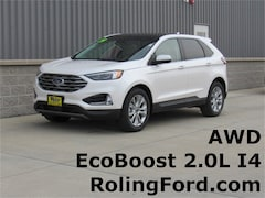 New 2019 Ford Edge Titanium SUV 2FMPK4K95KBB35189 for sale in Shell Rock at Roling Ford