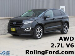 Used 2015 Ford Edge Sport SUV 2FMTK4AP6FBC02645 for sale in Shell Rock at Roling Ford