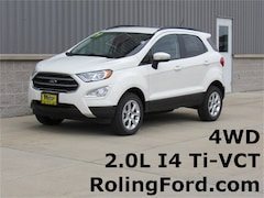 New 2019 Ford EcoSport SE SUV MAJ6S3GL3KC252810 for sale in Shell Rock at Roling Ford