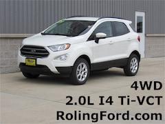 New 2019 Ford EcoSport SE SUV MAJ6S3GL3KC252810 for sale in Cedar Falls