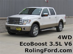 Used 2013 Ford F-150 King Ranch Truck 1FTFW1ET0DKF47927 for sale in Shell Rock at Roling Ford