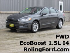New 2019 Ford Fusion SE Sedan 3FA6P0HD4KR164969 for sale in Shell Rock at Roling Ford