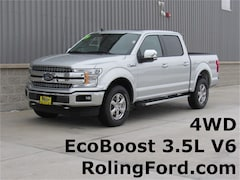 New 2019 Ford F-150 Lariat Truck 1FTEW1E45KKC46944 for sale in Shell Rock at Roling Ford